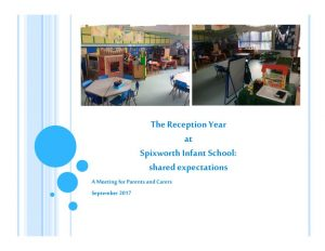 thumbnail of Reception curriculum parents meeting