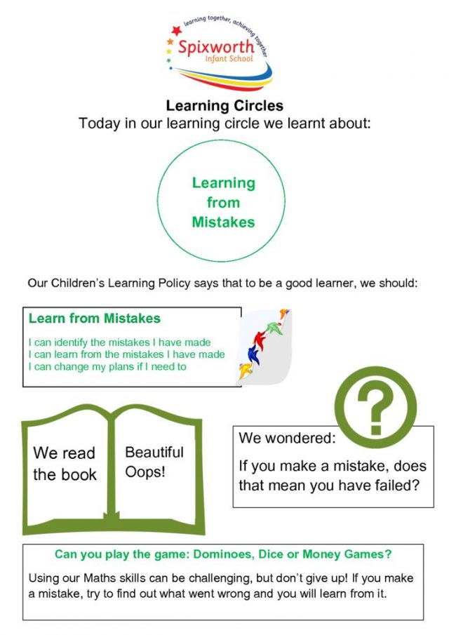 thumbnail of Learning Circle – Making mistakes