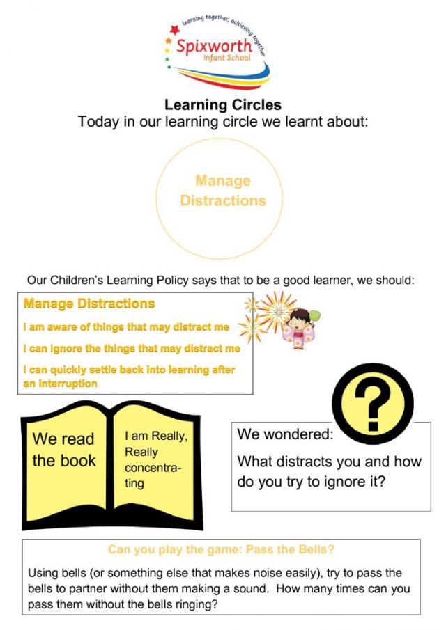 thumbnail of Learning Circle – Manage distractions