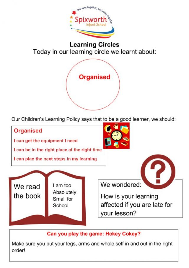 thumbnail of Learning Circle – Organised