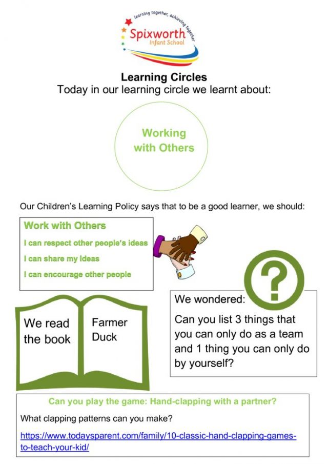thumbnail of Learning Circle – Working with others