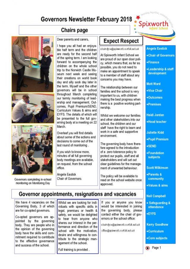 thumbnail of Feb governor newsletter