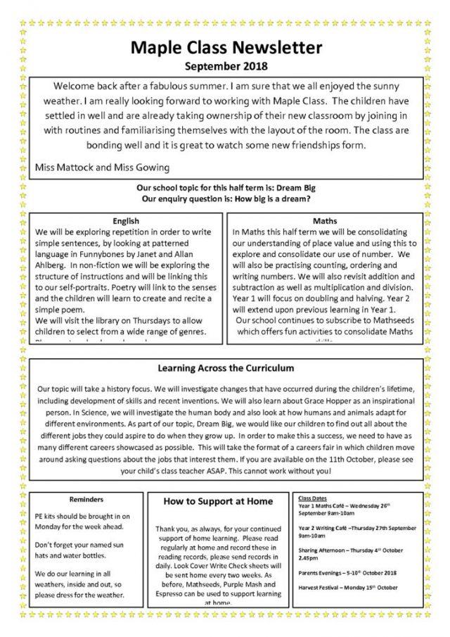 thumbnail of Maple Newsletter Autumn One
