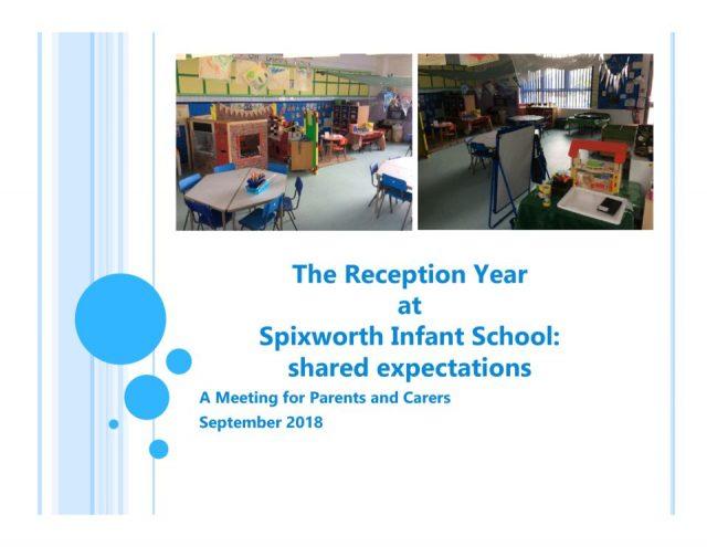 thumbnail of Reception curriculum parents meeting