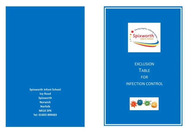 thumbnail of Infection control leaflet