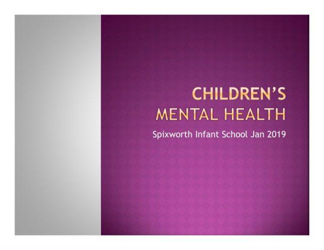 thumbnail of Children's Mental health