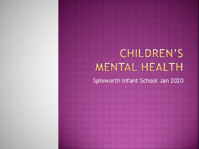 thumbnail of Children's Mental health 20