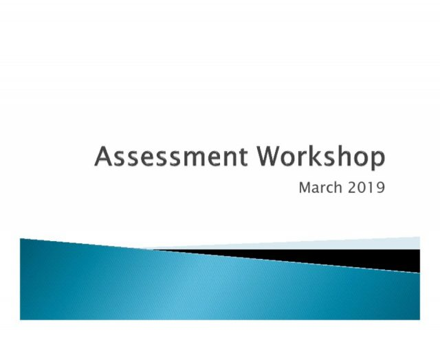 thumbnail of Assessment workshop Mar 20