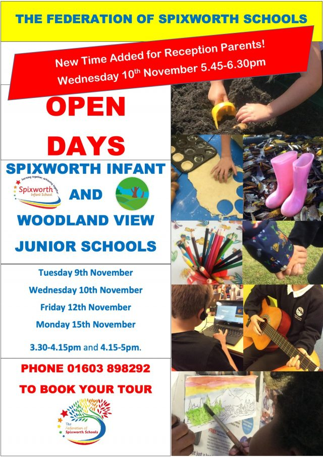 Open Day Flier 21 Extra